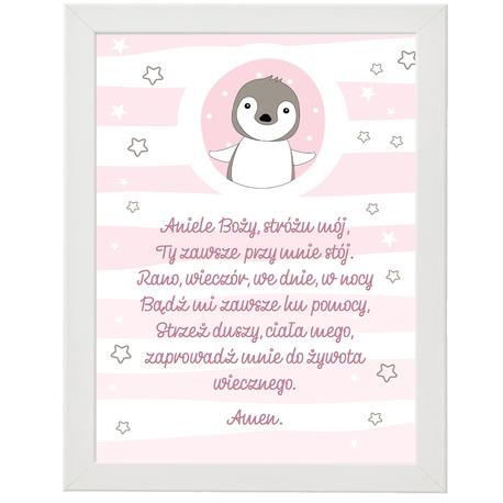 Modlitwa plakat Aniele Boży, stróżu mój (1)
