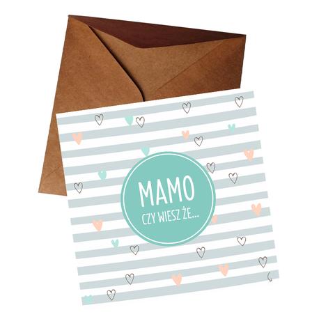 Kartka zdrapka - Mamo będziesz babcią (1)