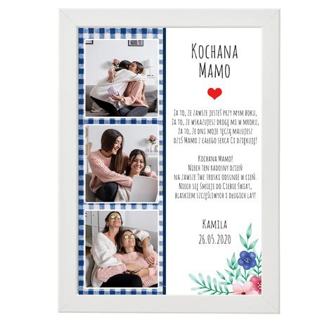 Plakat ze zdjęciem na Dzień Matki  (1)