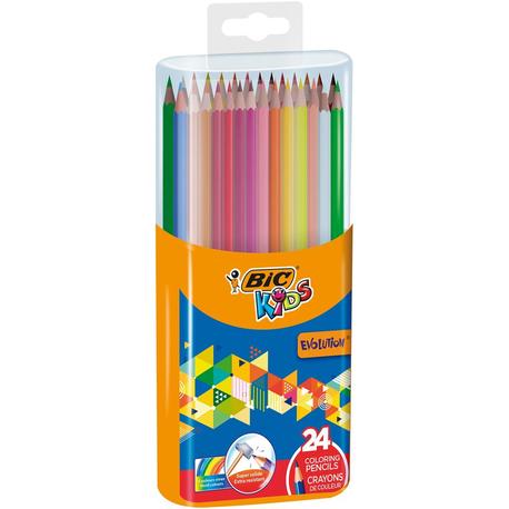 Kredki BIC Kids Evolution 24 kolory (1)