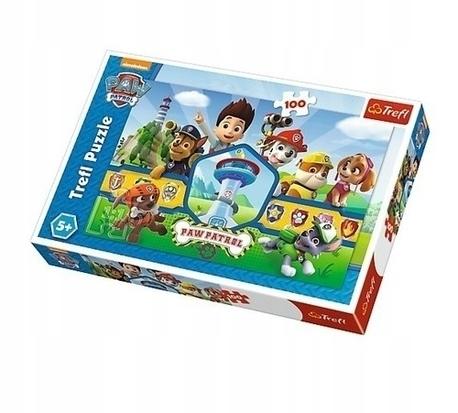Puzzle 100: Psi Patrol - Bohaterska drużyna (1)